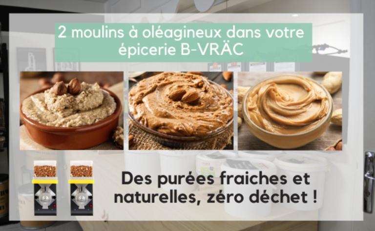 Des délicieuse purées d'oléagineux chez B-VRÄC