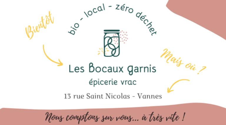 Les Bocaux Garnis : Votre épicerie vrac et bio à Vannes