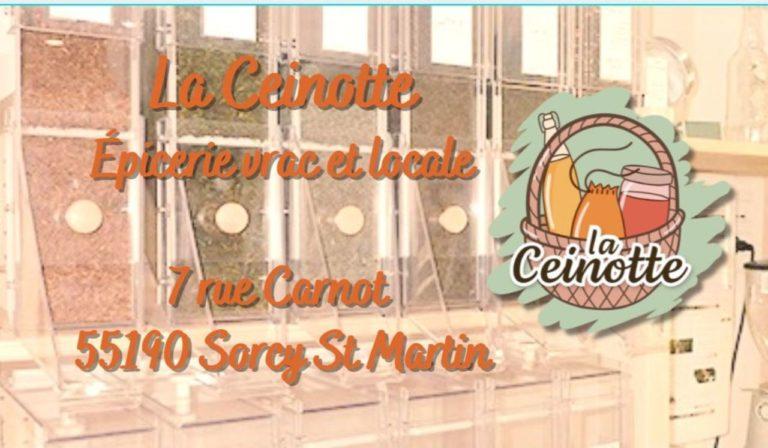 La Ceinotte – Epicerie Vrac et Locale à Sorcy st Martin